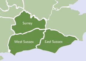 west-sussex-east-susses-surrey-green